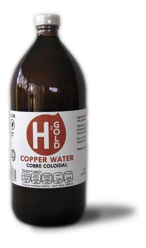 copper water - cobre coloidal 1 litro[20ppm]