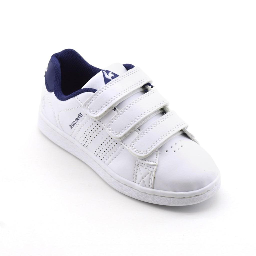 b728bde030cb ... authentic cargando zoom zapatillas le coq sportif sculli strap cuero  blanco nenes 401b3 f72d5