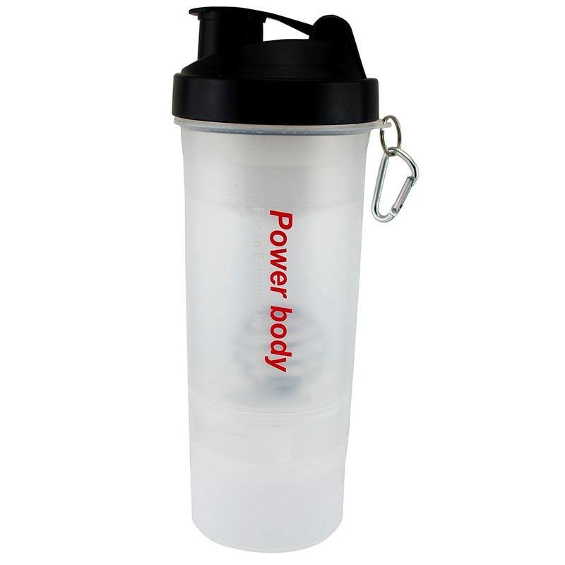 97d00bac5 coqueteleira academia garrafa shaker fitness 600ml com mola. Carregando  zoom.