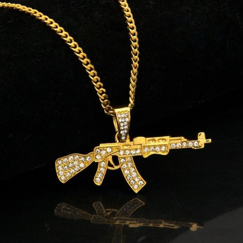 cor ouro colar