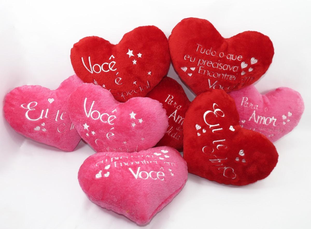 Coração De Pelúcia C Frases Bichinho Dia Dos Namorados