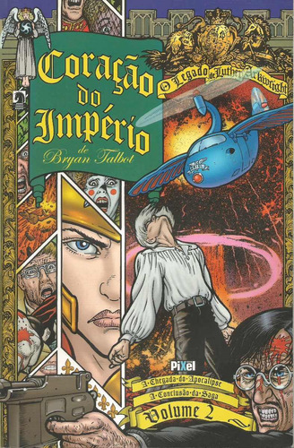 coração do império vol.2 - quadrinhos - bryan talbot