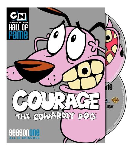 coraje el perro cobarde temporada 1 uno serie dvd importada