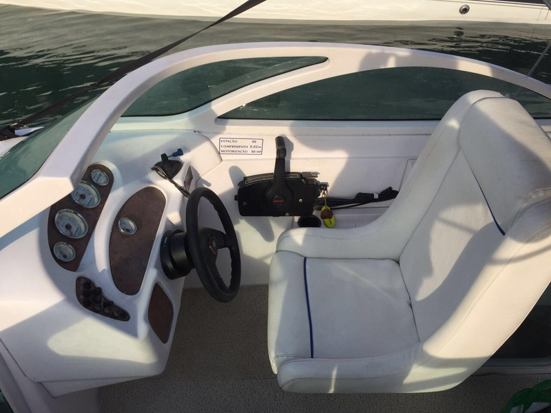 coral full open mercruiser 5.0 260 hp completa 2010 caiera