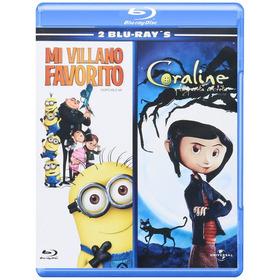 Coraline / Mi Villano Favorito Peliculas Bluray