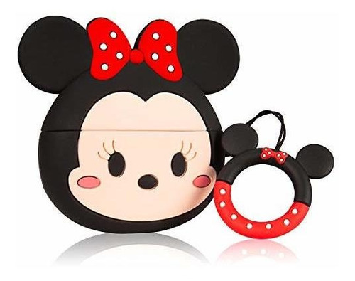 coralogo funda para airpods pro / 3 lindo, 3d animal mouse m