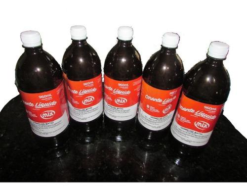 corante alimentício mix - vermelho natal - 960 ml