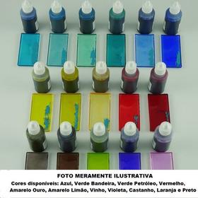 Corante Azul Translúcido P/ Resina Epoxi E Poliéster 100g
