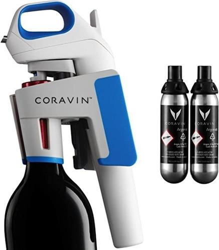 coravin® model one + 2 cápsulas ( garantía oficial )
