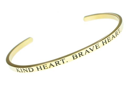 corazón corazón. corazón valiente  mensaje inspirador pulse