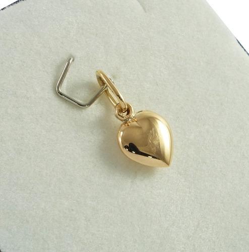 corazon en oro 18k 0,6grs  premiun garantia