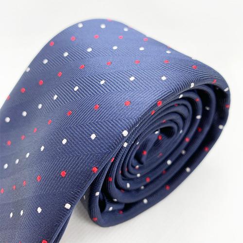 corbata azul color slim tie delgada de moda para hombre 6 cm