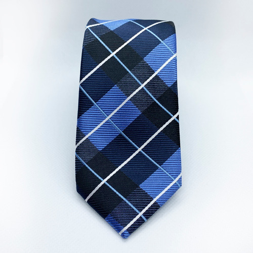 corbata azul marin slim tie delgada de moda para hombre 6 cm