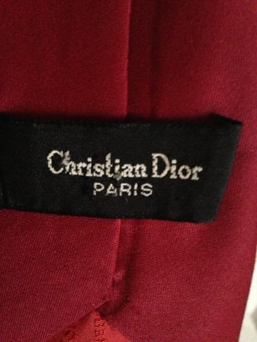 corbata christian dior