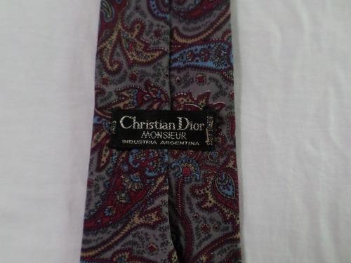 corbata  christian  dior excelente italiana