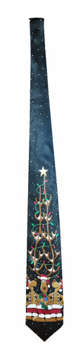 corbata de coleccion para navidad !!! unica en mercadolibre!