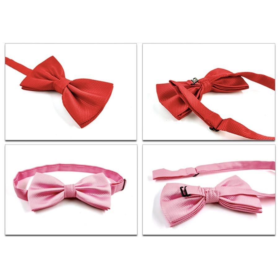 Corbata De Moño Clasico Hombre Grin Accs Color Rosa Palo