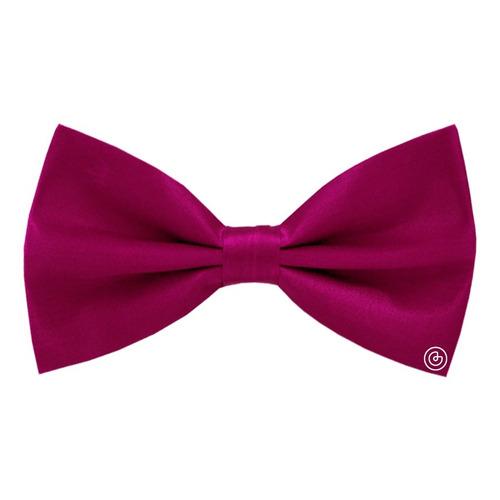 corbata de moño liso para hombre grin accs rosa mexicano