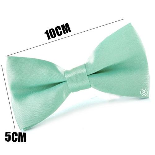 corbata de moño liso para niño grin accs color menta