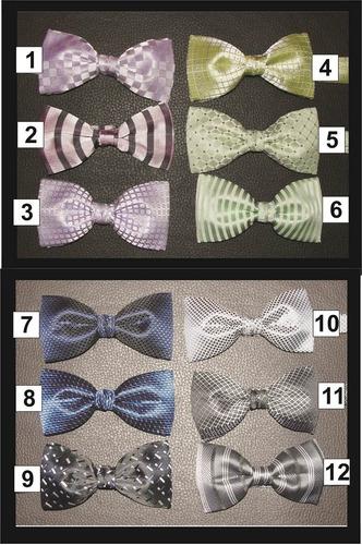 corbata de moño paquete de 15 piezas hipster vintage clasico