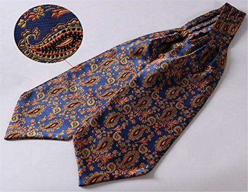 corbata elfeves 100% de seda color con estampado para hombre