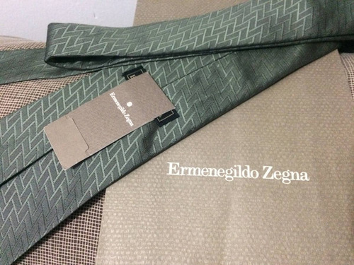 corbata hermenegildo zegna nueva... única en mercado libre