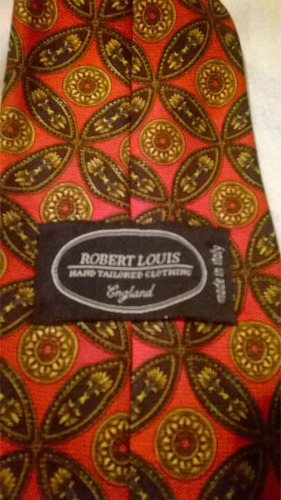 corbata marca robert louis