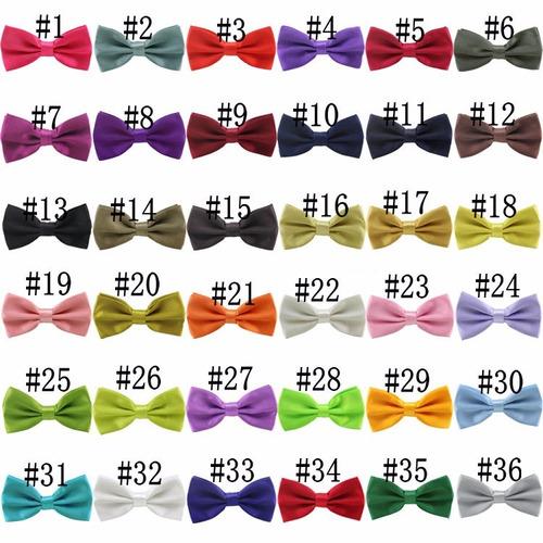corbata moños unisex lote de 5 piezas