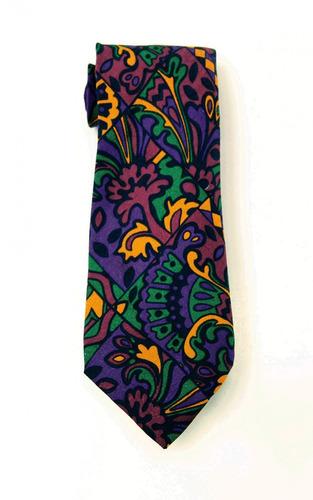 corbata morada  missoni