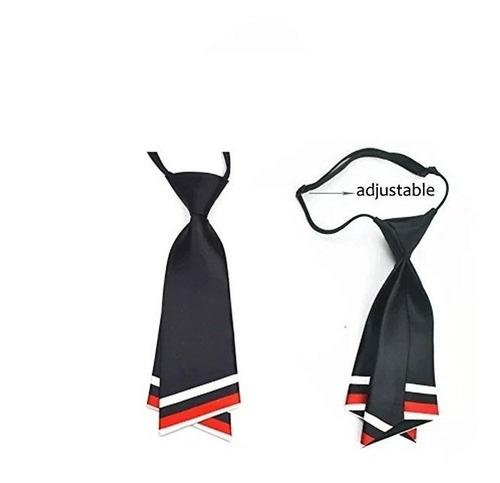 corbata seda mujer hanerdun pre-atada w15