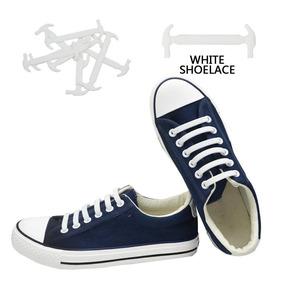 60b8b81b11b White - Cordones De Silicona Elástico Flojo Corbata Cor-1005