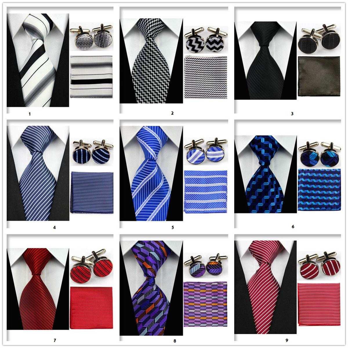 Corbatas con pa uelos y gemelos en seda lisas y dise os for Disenos de corbatas