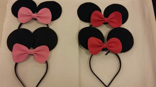 corbatas de minnie y mickey