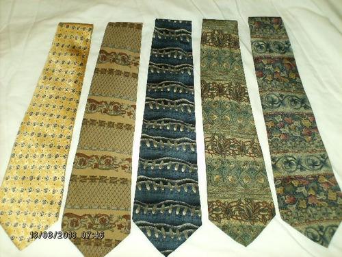 corbatas de seda  usadas, como nuevas
