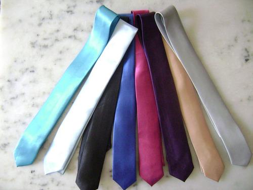 corbatas finas en seda, slim, varios colores a eleccion!!!!