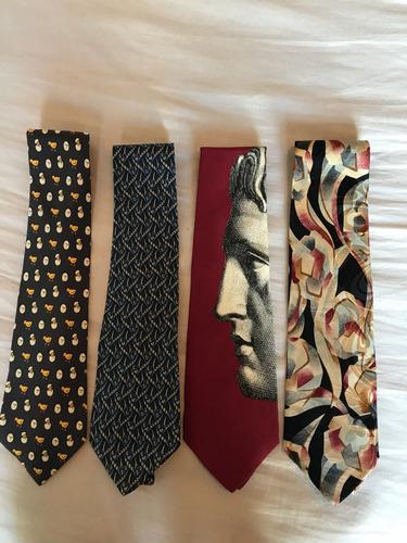 corbatas importadas varias marcas ( hermes ,ferragamo ,etc.)