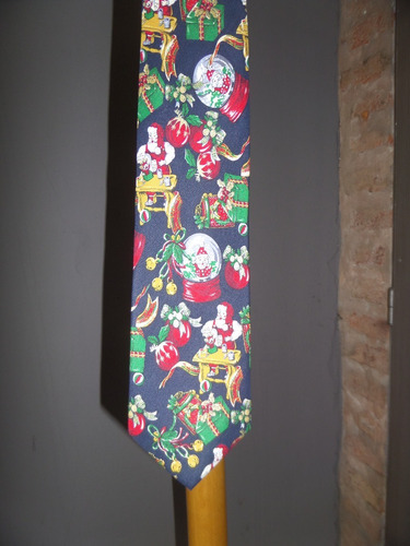 corbatas navidad pura seda natural italianas