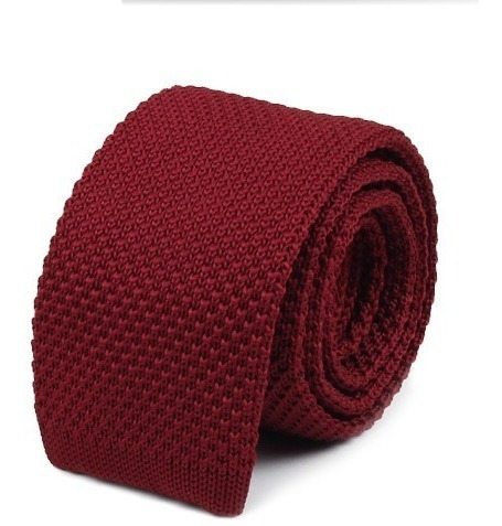 corbatas tejidas de punto lisas colores (5 unidades)
