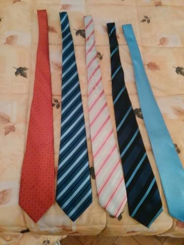corbatas x 5