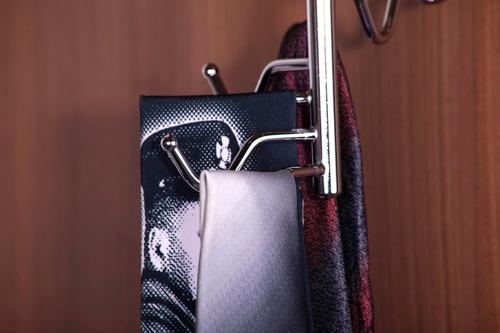 corbatero giratorio placard armario eje 10 corbatas hogar