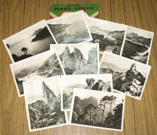 córcega piana porto francia 10 fotos antiguas de colección