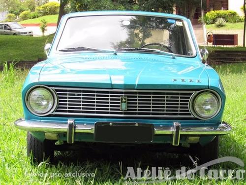 corcel luxo 1971 placa preta - ateliê do carro -  vendido!!