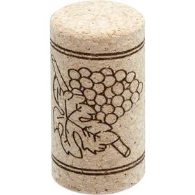 Corchos Aglomerados 3/4 Tapones Botella Vino Nuevos (x500un)