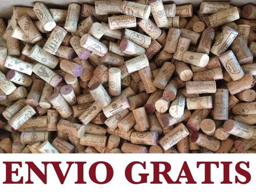 corchos de vino usados por kilo (naturales)