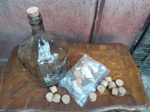 corchos para garrafas bolsa 15 corchos