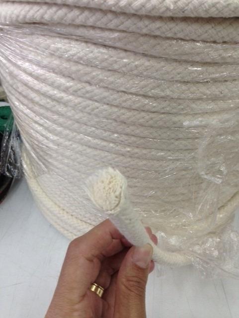 32dcc0b4cec4d Corda De Algodão Capoeira 12mm   30m + 6 Tubos De Corante - R  160 ...