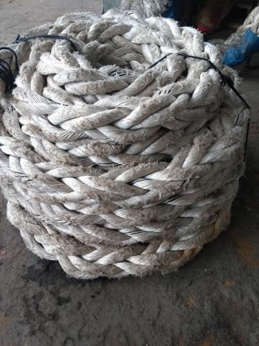 corda de navio / embarcações    rolo com 13 mtrs