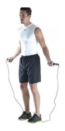 corda de pular com contador digital gasto calorico lcd