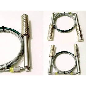 Corda De Pular Crossfit Alumínio Com Cabo De Aço Pesado  3mm