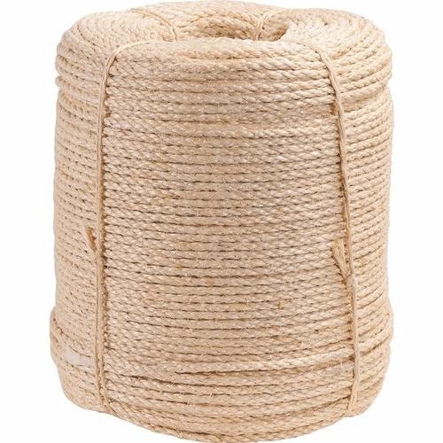 corda de sisal 5 mm x 400 m 3 pernas artesanato vonder